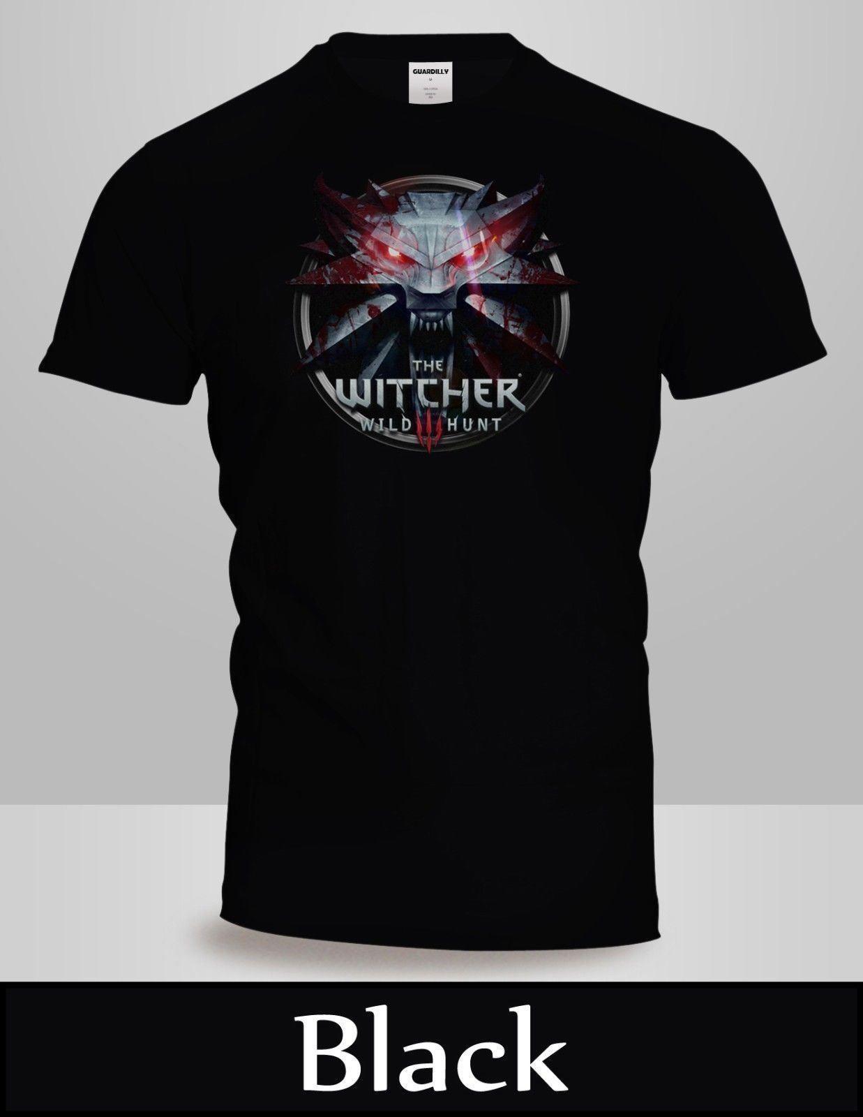 ba75fdd9c0 The Witcher 3 Wild Hunt Logo T Shirt Logo Funny Unisex Casual Tshirt Top  Cool T Shirts Buy Online Raid Shirt From Thebestoree, $12.96| DHgate.Com