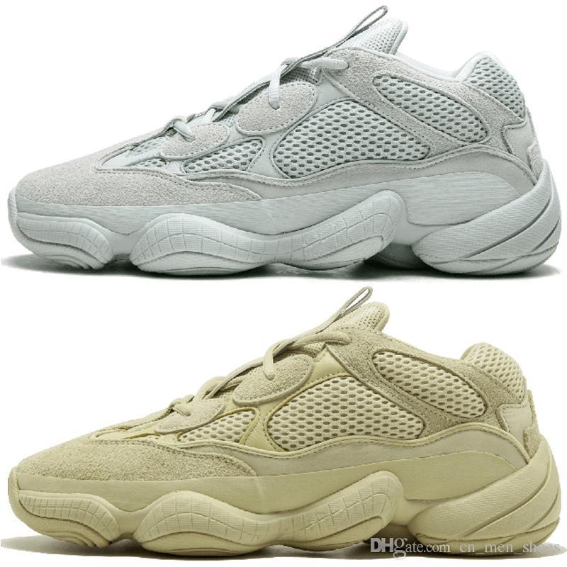 179aad806 500 Desert Rat Blush 500s Salt Super Moon Yellow Utility Black Mens Running  Shoes For Men Women Sports Sneakers Designer Trainers Size 36 45 Best Womens  ...