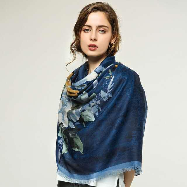 Silk scarves for women go well with summer thins 100% mulberry silk for mothers summer scarves sun screen scarf shawls