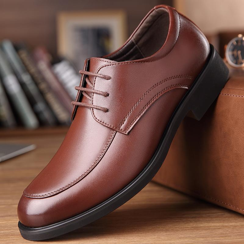 e5f20fb9242d 2018 New Men Dress Shoes Men Formal Shoes Classic Business Luxury Men  Oxfords Footwear Suit Shoes HH 541 Womens Loafers Mens Leather Boots From  ...