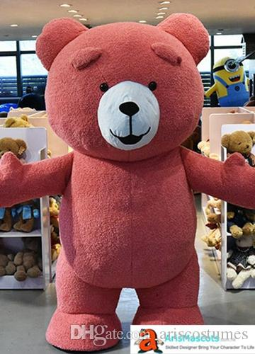 a60cc1822a4 200cm Tall 6ft 6inches Adult Size Inflatable CostumeTeddy Bear Mascot  Costume For Party And Opening Ceremony Theme Park Deguisement Mascotte  Animal ...