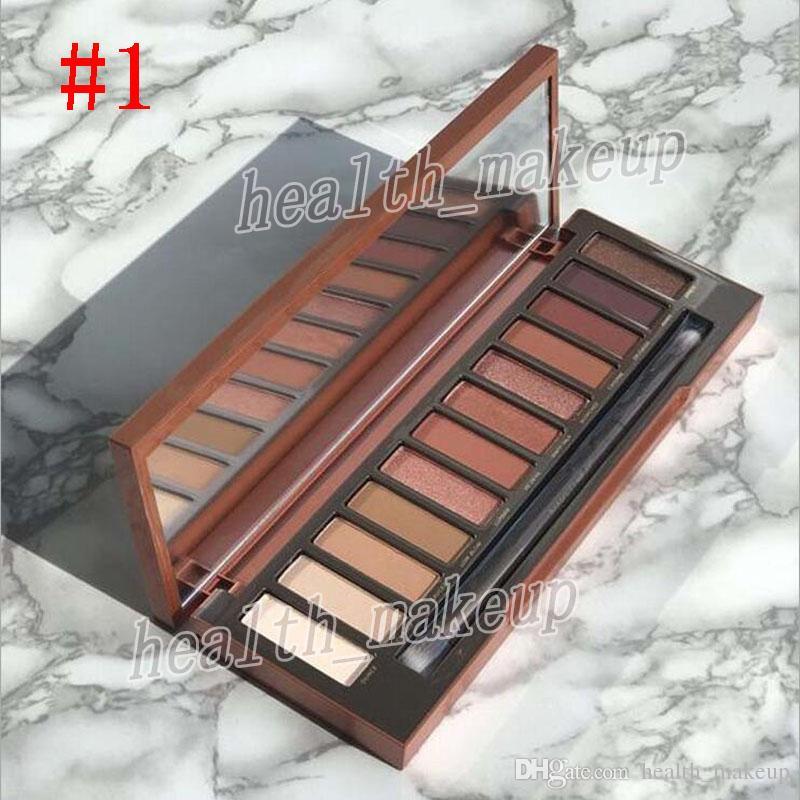 Hot Brands Make-up Wärmepalette Kirsche 12 Farben Augen Schatten Matt Schimmer Lidschatten mit Make-up Pinsel Bronzer Erröten Palette Kosmetik