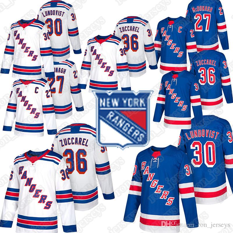 buy popular 1e30a 9ea27 New York Rangers jerseys 30 Henrik Lundqvist jersey 36 Mats Zuccarello  Chris Kreider 27 Ryan McDonagh Jesper Fast Mika Zibanejad Rick Nash
