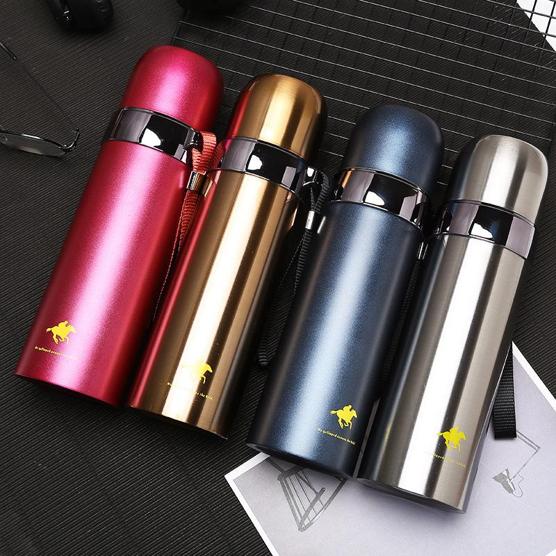 71193c4530 2019 Large Capacity Straight Vacuum Flask Gift Travel Drink Bottle Straight Thermos  Customizable LOGO Sports Heat Resistant Car Mugk H#54 From Ywjhds, ...