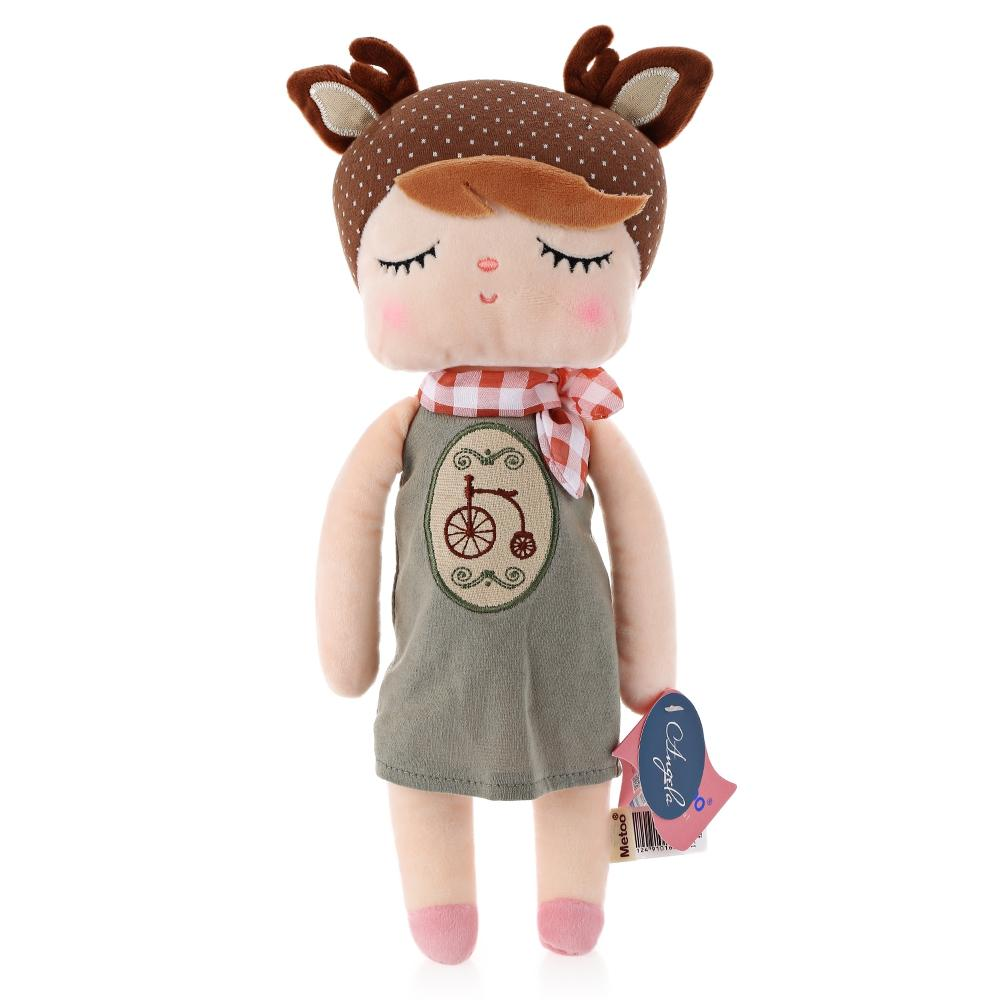 New Arrival Genuine Metoo Angela Rabbit Dolls Bunny Baby Plush Toy Cute Lovely Stuffed Toys Kids Girls Birthday /Christmas Gift