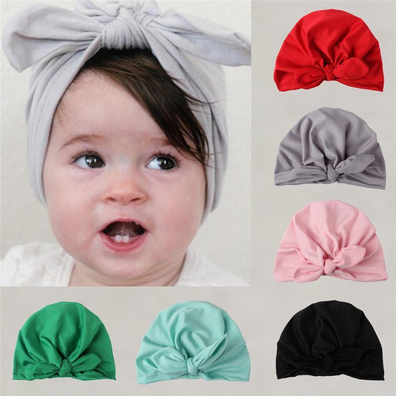 2019 New Baby Hat For Girls Autumn Winter Baby Boy Girl Cap Infant Beanie  Turban Hat Accessories From Babyeden c3c9ed1595c6