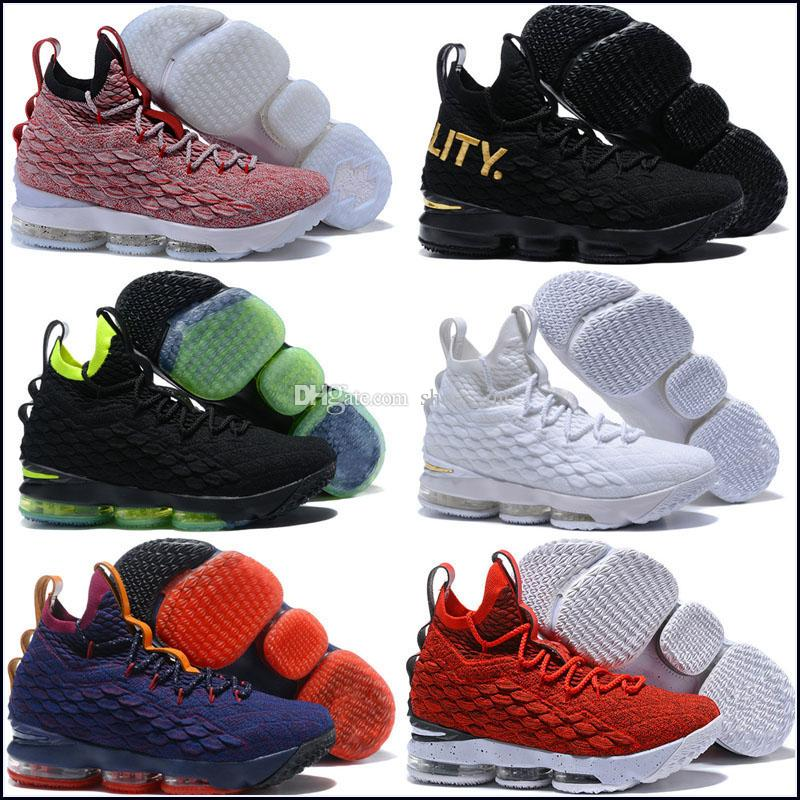 sports shoes 8f04e 770c5 LeBron 15 Diamond Turf Primetime for sale Top Quality James Basketball  shoes free shipping wholesale store US7-US12