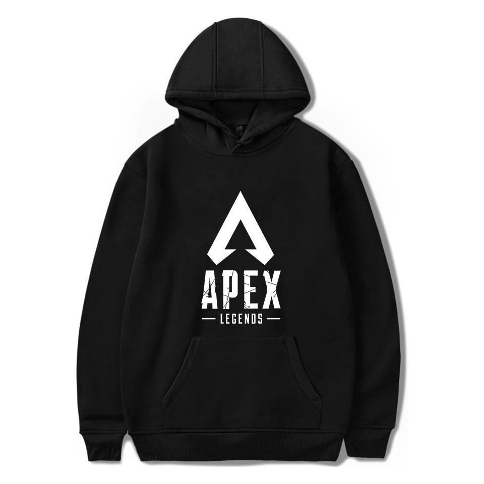 3fe97372 black Hoodie Apex Legends Hoodies Men Women Harajuku Sweatshirts hoody New  Hot Sale Apex Legends Hoodie Mens Casual Sweatshirts