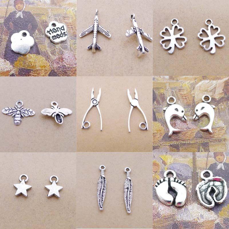 8 pcs Tone RN NURSE Tibet silver Charms Pendants DIY Jewellery Making crafts
