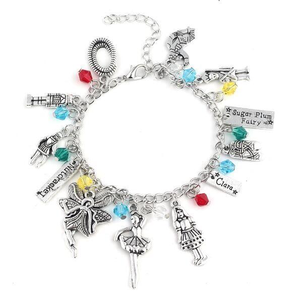 65b93c409 2019 2019 The Nutcracker Charm Bracelet Fashion The Nutcracker And The Four  Realms Jewelry Pendant Crystal Bead Bangle Bracelet For Women From  Thankjay, ...