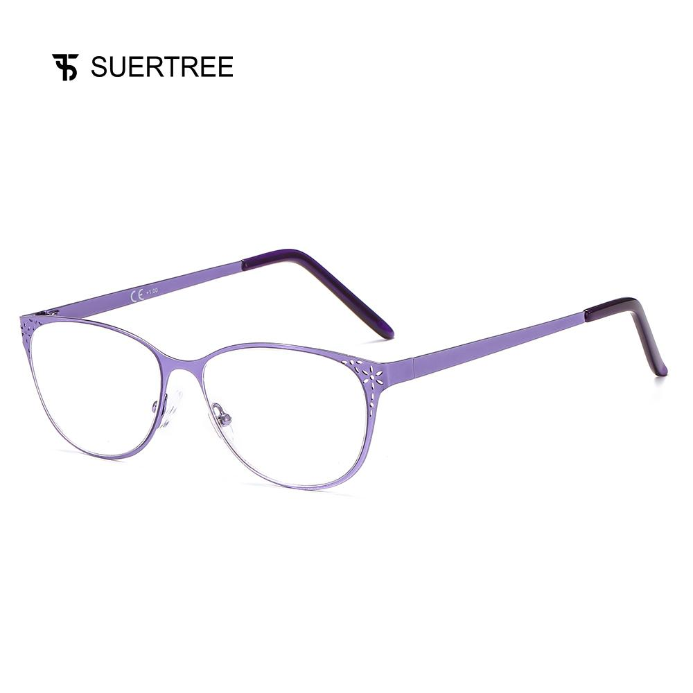 1c8abdf9048 2019 SUERTREE Fashion Anti Glare Computer Glasses Comfort Spring Hinge  Eyeglasses Frame Trendy Women Men Eyewear BM330 From Nylonshan