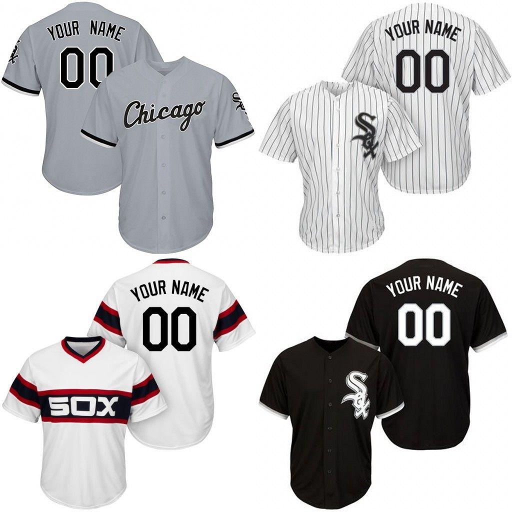 official photos b4c1b d1089 Youth KIDS Custom Chicago White Sox Jersey Jimenez Anderson Jackson Moncada  Michael Kopech Abreu Delmonico Tilson Castillo Ronden Engel