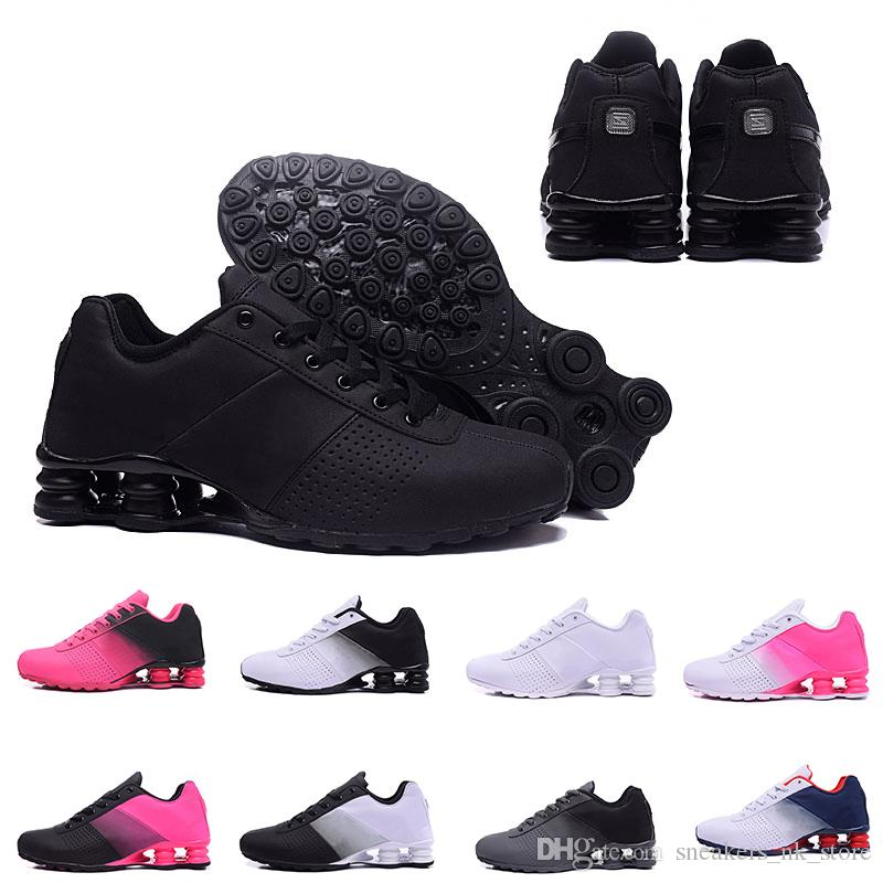 free shipping fd9e1 57243 2019 Cheaper New Shox Deliver 809 Running Shoes For Men Women Brand DELIVER  OZ NZ Brand Mens Trainers Triple S Sports Designer Sneakers 36 46 From ...