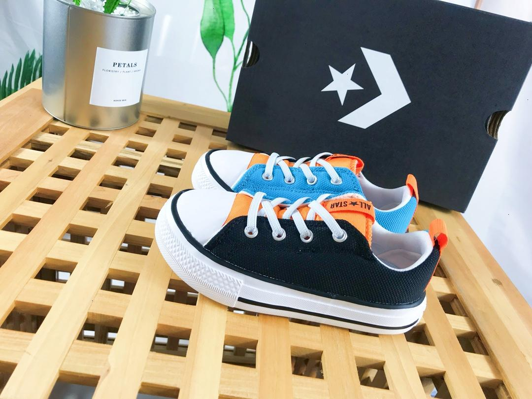 Boys shoes children's designer clothing 2019 autumn new fashion casual color matching a pedal casual shoes vitality comfortable boy shoes