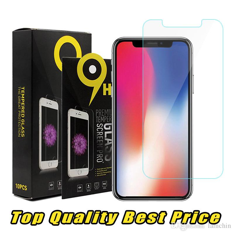 best sneakers b09bc c2708 For iPhone XS Max XR Top Quality Best Price Tempered Glass Screen Protector  2.5D For Samsung S7 Ship Out Within 1 Day