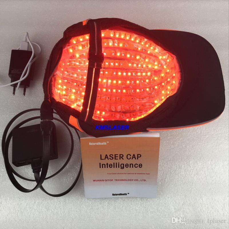 Novo modelo de crescimento Laser cabelo cap lasers Melhor queda de cabelo tratamento para cabelos homens tratamento rebrota máquina de laser de baixa potência