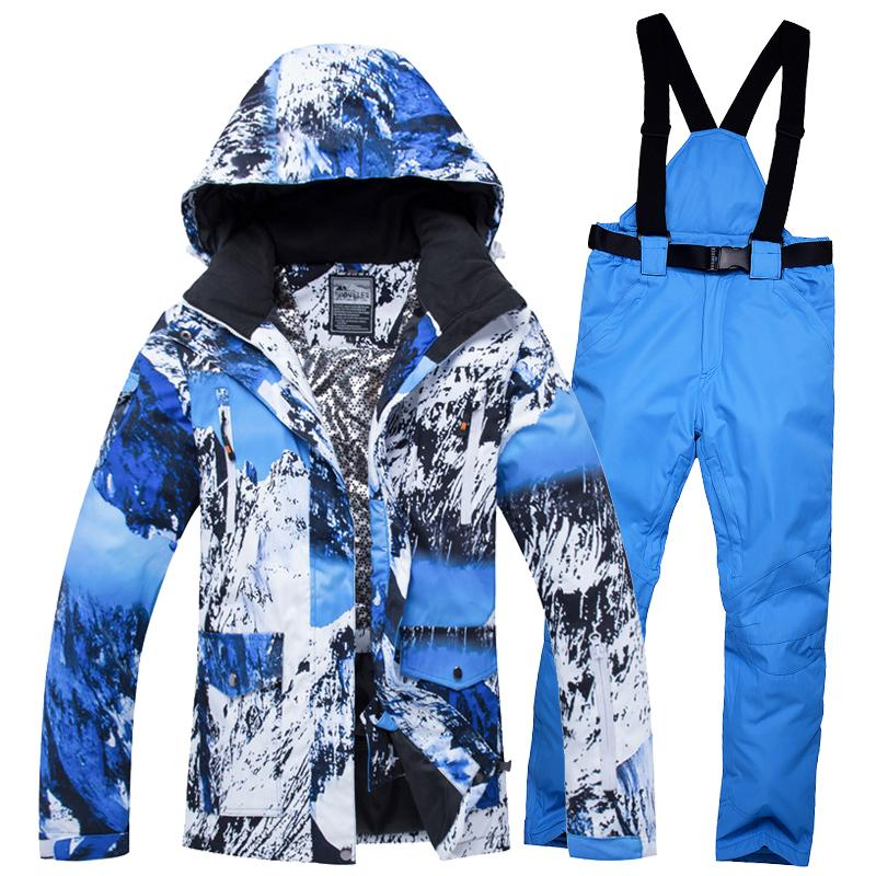 a883bb4610d6 Ski Suit Women Brands 2018 New High Quality Snow Snowboard Jackets ...