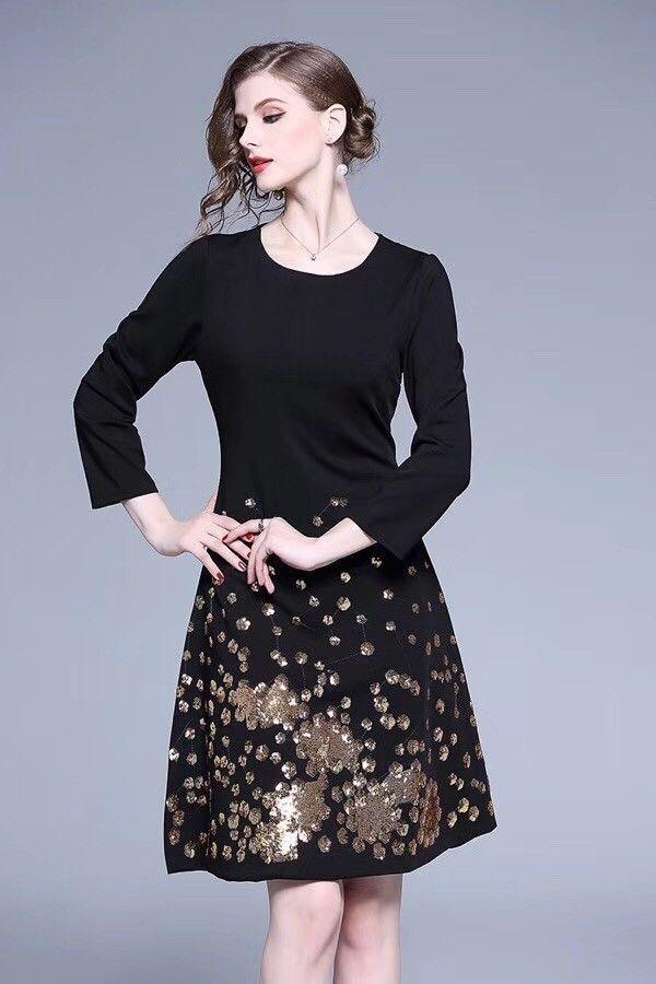 1a4ff9773de 2019 New High Quality Ladies Long Dress 10  Short Dresses Floral Dresses  From Qz1001