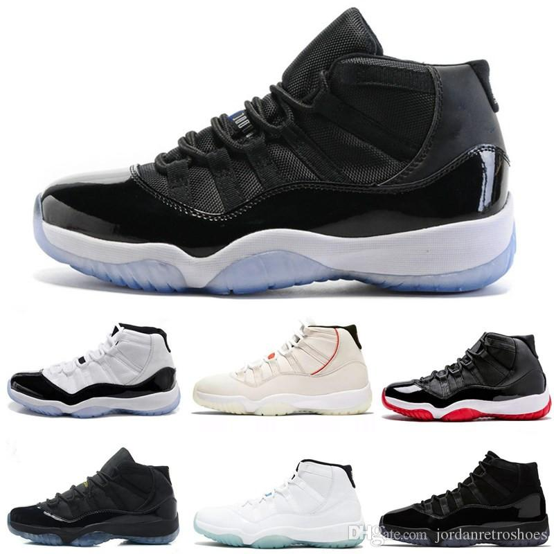 8cd7fd24ae601d Concord 45 Basketball Shoes 11 Platinum Tint 11s Gym Red Space Jam ...