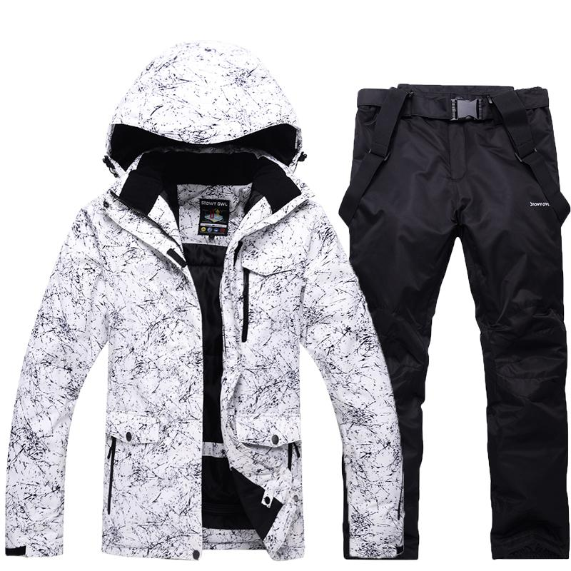 9078da8dc8 2019 30 Men S Or Women S Snow Wear Snowboarding Sets Waterproof Windproof  Breathable Outdoor Sports Ski Suit Jackets And Belt Pants C18112301 From  Shen8402