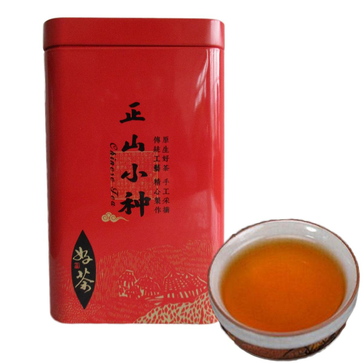 200g Chinese Organic Black Tea Lapsang Souchong Superior Oolong Red Tea Health Care New Cooked Tea Green Food Gift Package