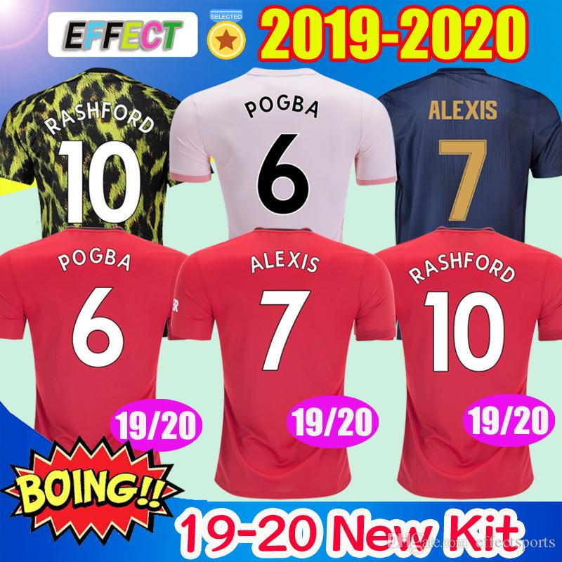 7447c0cb5 2019 2019 Thailand Alexis POGBA Man Soccer Jerseys 2020 LUKAKU RASHFORD Football  Kit United EA SPORTS Jersey New 18 19 20 Shirts Kids Uniform From ...