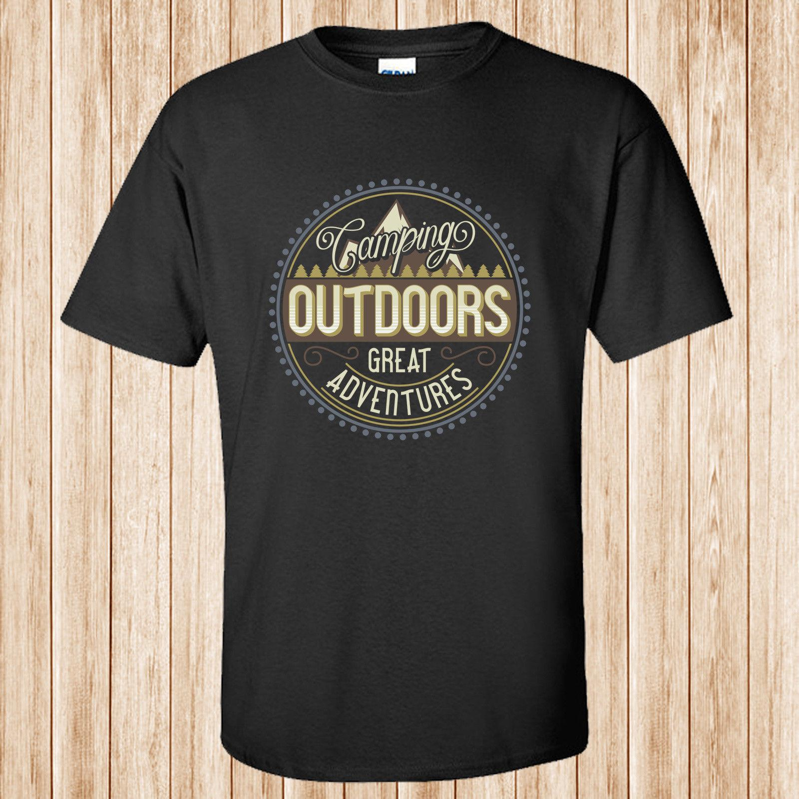 77e5d746d Camping Outdoors T Shirt Funny Unisex Casual Funny Clever T Shirts Best  Sites For T Shirts From Cheznobody, $12.96| DHgate.Com