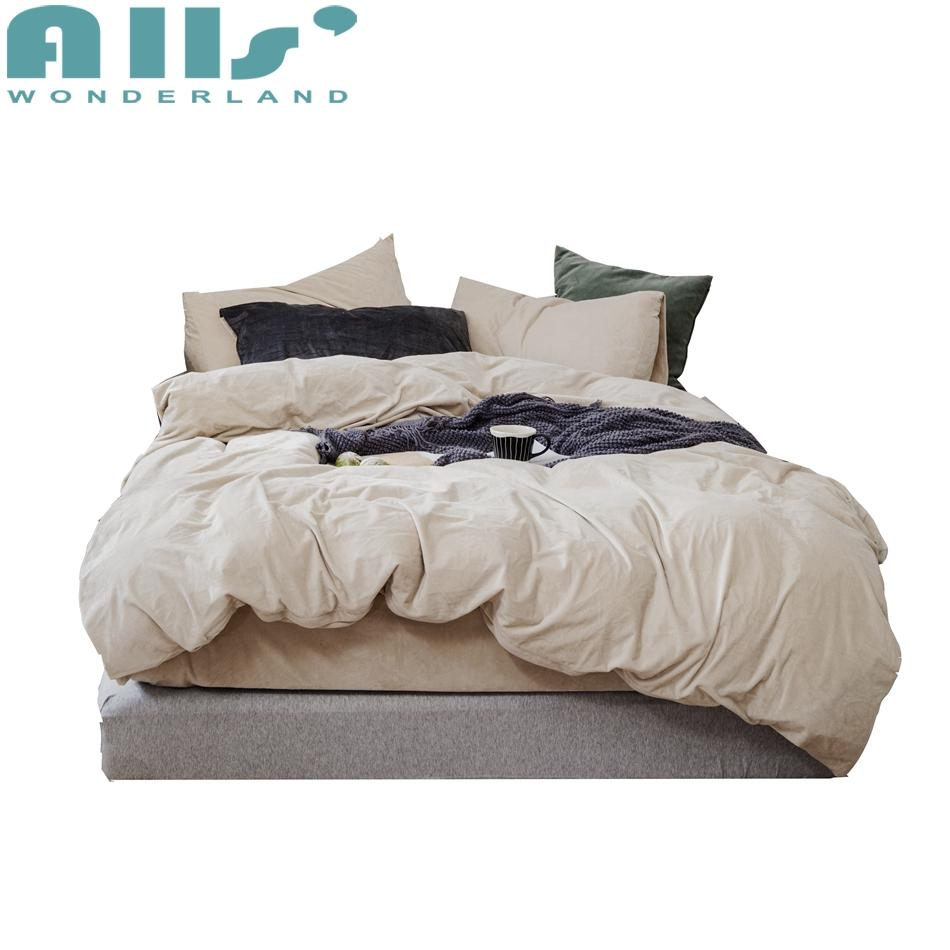Velvet Soft Bedding Sets King Bed Quilt Cover Luxury Designer Bed Sets Teen  Bedding Set Zipper Closure Velvet Bedding Linen Bedding Bedspread Sets From  ...
