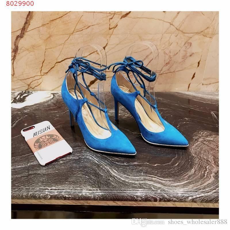 36d2cb22c Compre 2019 Sapatos De Salto Alto Vestido De Mulher Moda Sofisticado  Calçados Femininos, Requintado Sapatos De Salto Alto Sapatos De Negócios De  ...