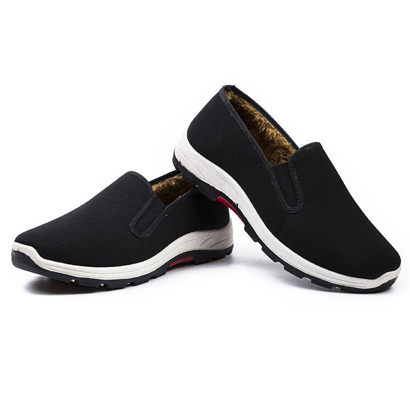 Compre 2018 Otoño E Invierno Nuevos Viejos Zapatos De Tela De Pekín ... 0a522d0427d