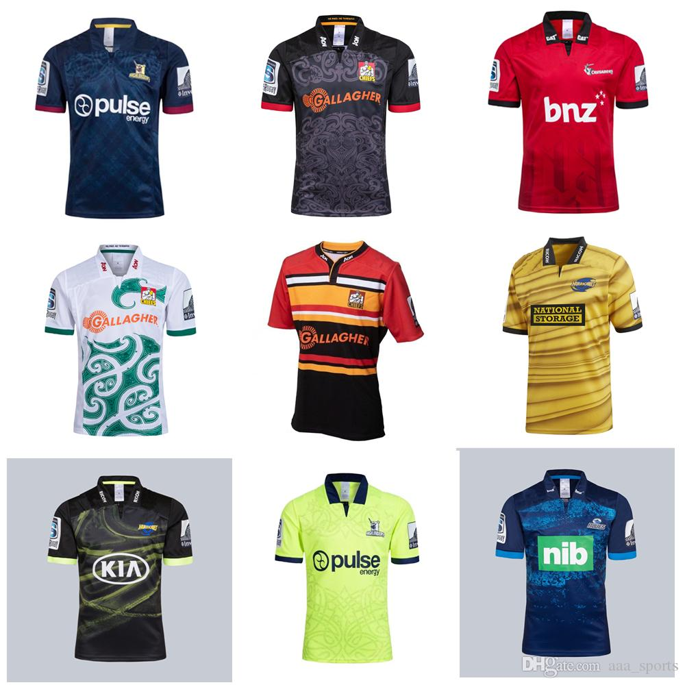 8151ecff992 2019 2019 Hurricanes Crusaders Blues Home Away Super Rugby Jerseys 18 19  New Zealand Chiefs Jersey Highlanders Shirt From Aaa_sports, $17.26 |  DHgate.Com