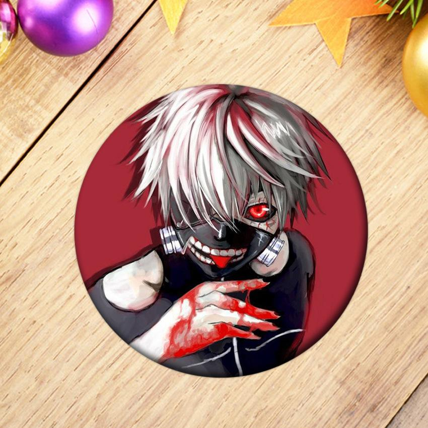 Japanese Anime Tokyo Ghoul Album Brooch Fashion Pin Badge Accessories For  Clothes Hat Backpack Decoration 2019