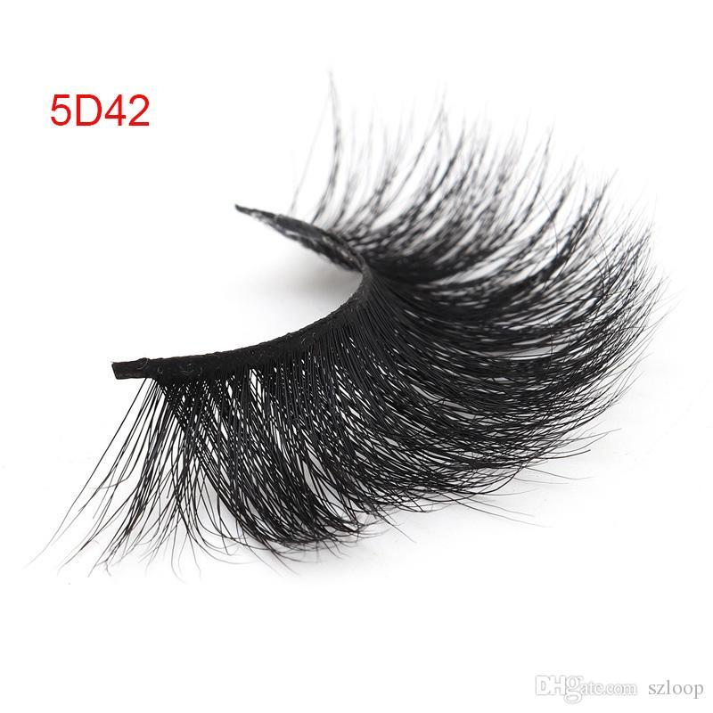 25mm 5d Wimpern Nerzend Dicke Crisscross Grausamkeit frei Volumen Weichen Weiche Große dramatische volle Wimpern Make-up-Werkzeug Großhandel