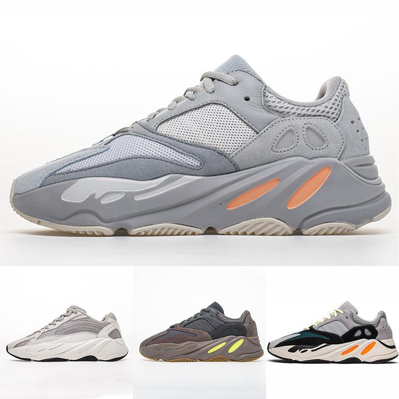 factory authentic 19f05 1eec6 PK Version 700 Inertia Wave Runner 700 V2 Static Waverunner Mauve OG Men  Running Shoes Women Designer Sneakers 2019 With Box