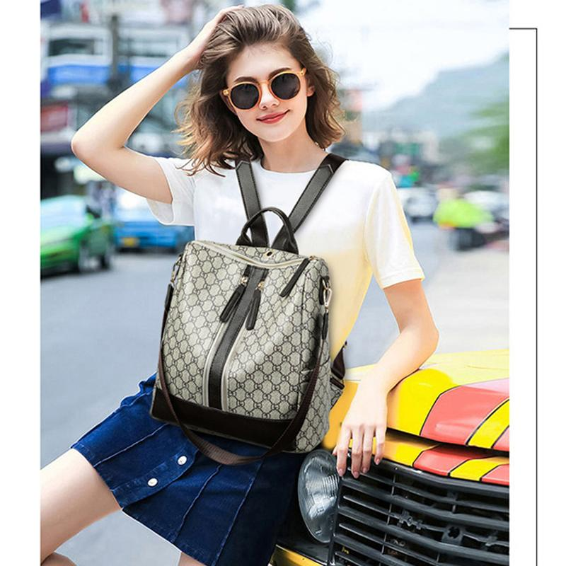 2019 best Fashion Design Women Backpack High Quality Youth Leather Backpacks for Teenage Girls Female School Shoulder Bag Bagpack mo354668f#