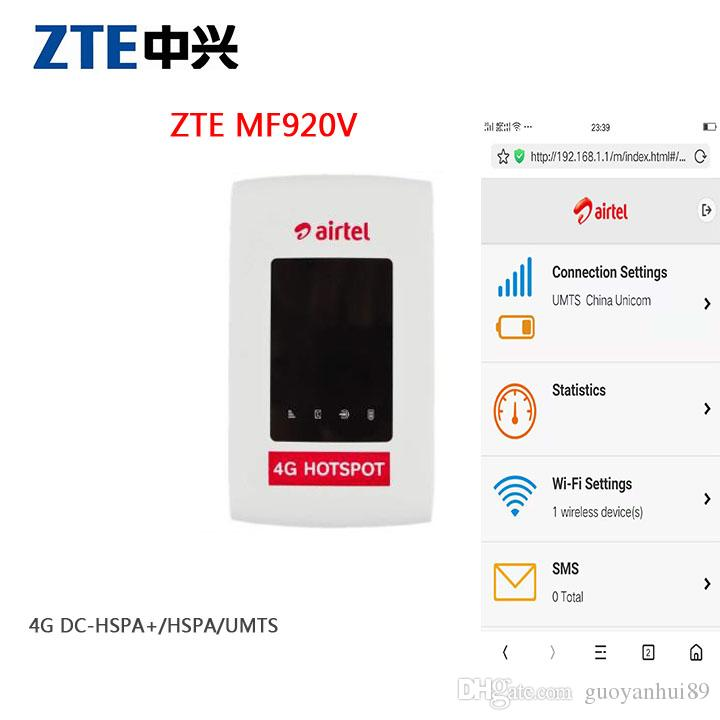 Unlocked ZTE MF920 MF920V 4G FDD/TDD-LTE Wifi Router Max Up 32 Devices LED