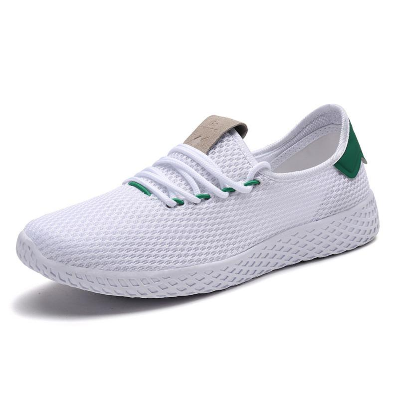 1415af23cd49 Men Shoes Men Running Shoes Breathable Mesh Sports Sneaker Boy Outdoor  Walking Sport Shoes Men Trainer Sneaker Chaussure Homme Online with   56.29 Pair on ...