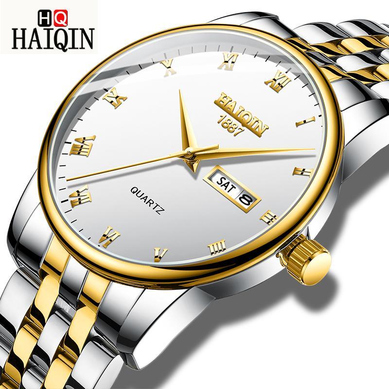 1e70d16fc18f Haiqin Men S Gold Military Sport Watch Men Wristwatch Mens Watches ...