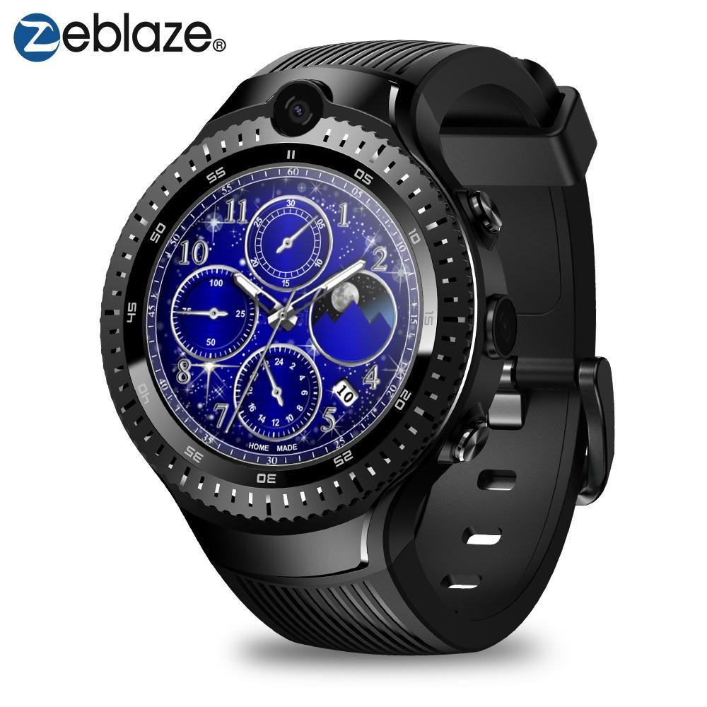 Pulsera 1 Lte 7 Gps Ritmo Cardíaco Android Thor Glonass Inteligente Nano 4 Reloj 1gb De Doble 4g 1 16gb Wifi Bt Zeblaze Mic Sim FKJclT31
