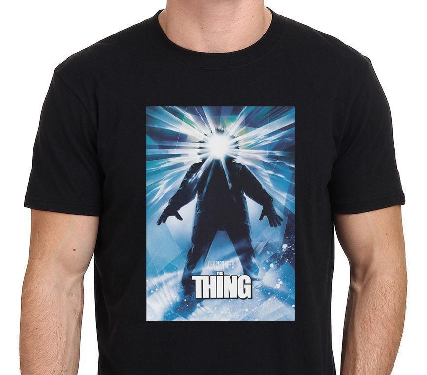 60d98475 Fashion Print T Shirt O Neck Design Short Sleeve Mens The Thing John  Carpenters Horror 80S Movie T Shirts White T Shirt Design T Shirt Deals  From Jie51, ...