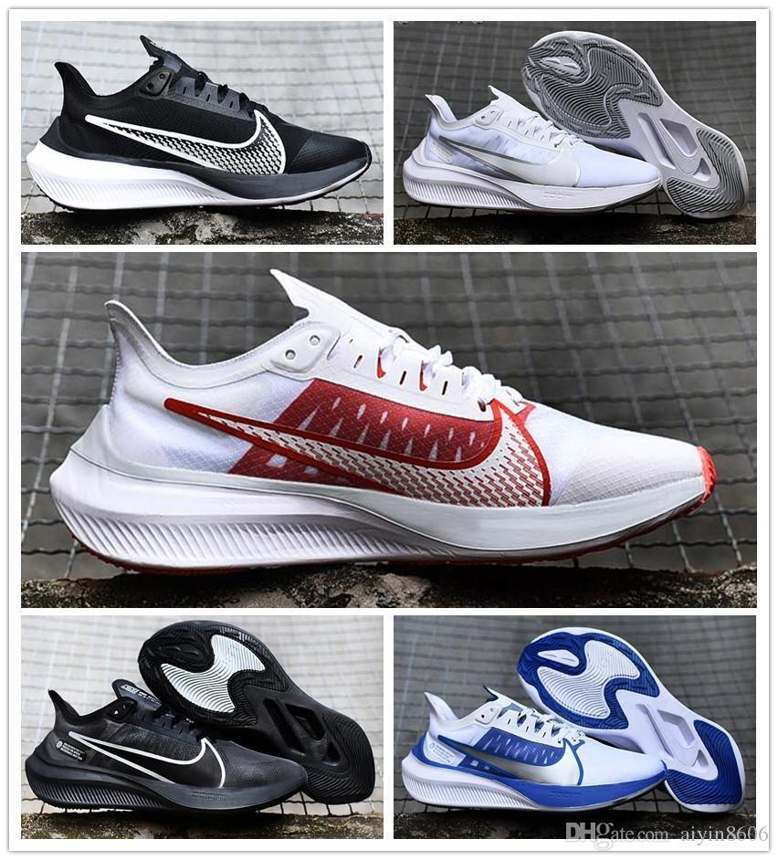 2019&nbspnike Air Zoom Gravity Man Running Shoes Air Zoom 37 Outdoor Run Sport Sneakers Big Logo Walking Shoe Size 40-45