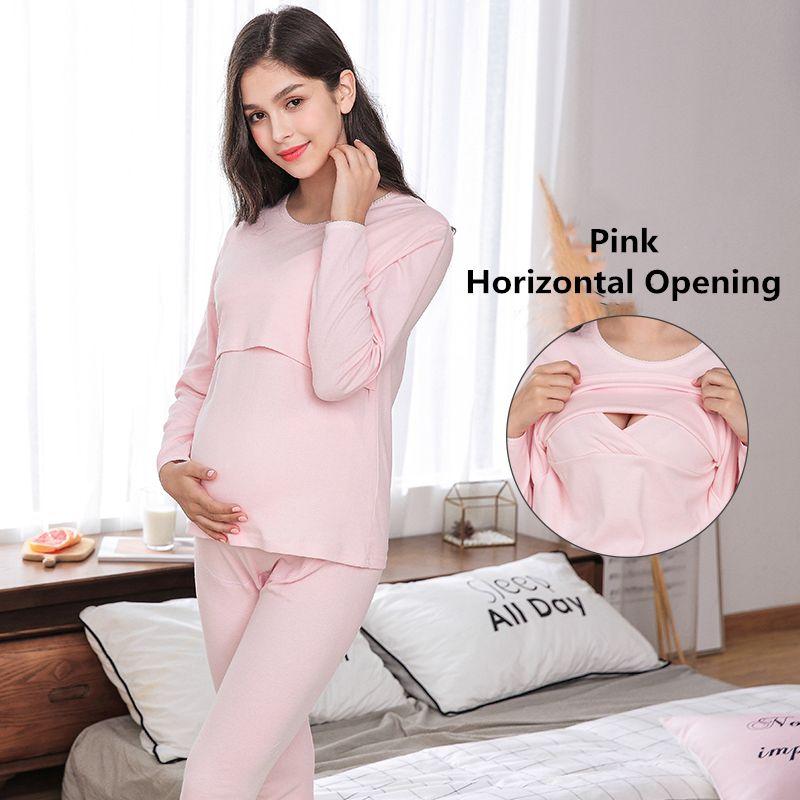 a2e9113f9ab 2019 Pregnancy Nighty Maternity Pajamas For Pregnant Women Nursing  Sleepwear Breastfeeding Nightgown Feeding Nightwear Suit Y8171 From  Windowplant, ...