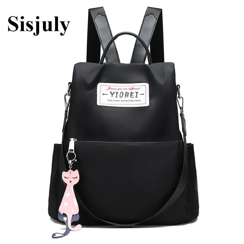 d778d5254672 Sisjuly Oxford Backpack Women Designer Bag 2018 Fashion Large Capacity  Backpacks Anti Theft Bagpack Travel Bags Girls School Bag Rucksack Jansport  Backpacks ...