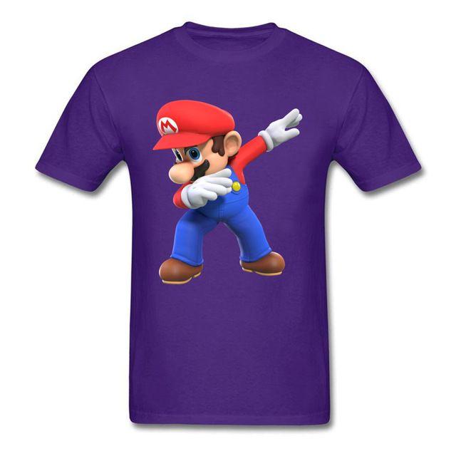 6b2f1233b Mens Designer Clothes Brand Polo Men T Shirts 3D Tshirt Super Mario Bros T  Shirt Funny Dabbing Mario Printed Clothes Summer Tops Tees Crazy T Shirts  Online ...