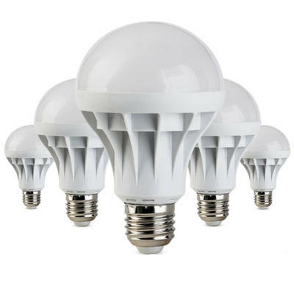 Lampada E27 risparmio energetico LED 5W 7W 9W 12W delle lampadine AC 110 / 220V DC 12V Bulds