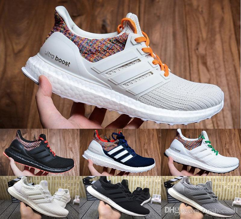 premium selection b1a6a 00776 2019 Ultra Boost 4.0 Triple Black White Cuisine Multicolor Oreo Grey Women  Running Shoes Men Sport Ultra Boosts ultraboost 4.0 3.0 Sneakers