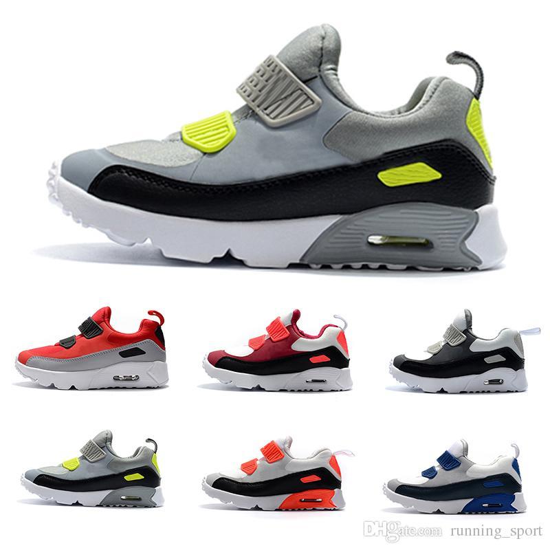 9ddd23017c9 2018 Kids Sneakers Presto 90 II Children Sports Orthopedic Youth ...