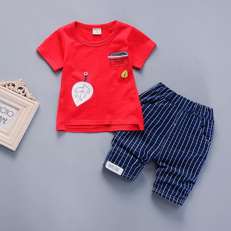 d2a2a8ef939f3c 2019 Good Quality 2019 Baby Boys Clothing Summer Sets Kids T Shirt+Striped Sport  Short Pants Infant Toddler Boys Casual Clothes Suit From Textgoods08, ...