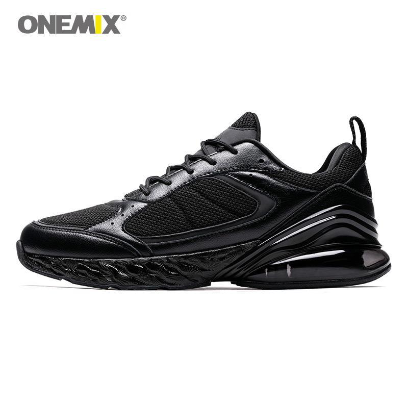 innovative design 163ea 0846b Compre Zapatillas De Running Onemix Para Mujer Negro, Blanco, Suave  Entresuela, Amortiguador De Aire, Zapatillas De Deporte, Mujer Max 47 Plus  12.5, ...