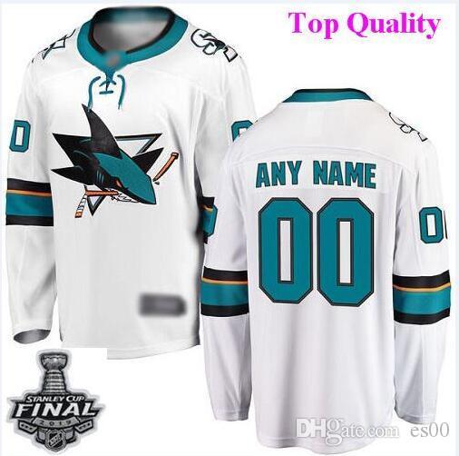 sneakers for cheap a3b12 c25a9 Custom San Jose Sharks nhl hockey jerseys Joakim Ryan 2019 Stanley Cup  Final Patch Jersey 4xl 5xl 6xl wholesale cheap sport factory kids